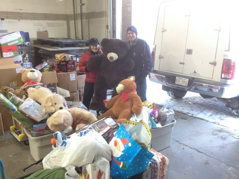 Red Deer Food Bank Volunteer